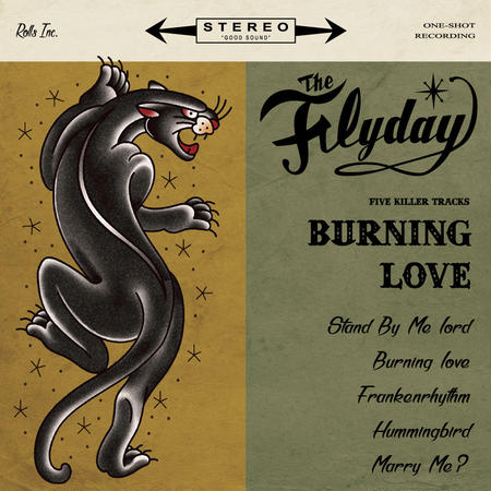THE FLYDAY「Burning Love」CD