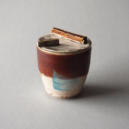 中田 篤 フタ付きカップ