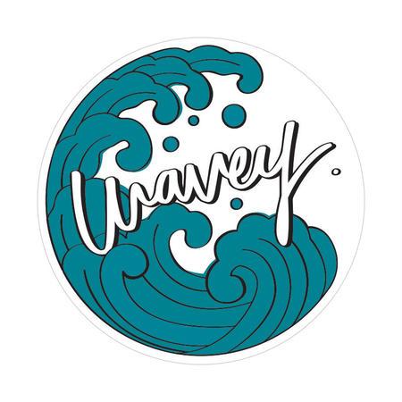Wavey Iāpana Sticker