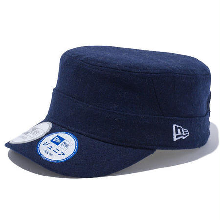 【 NEW ERA KID'S/ ニューエラ キッズ 】WM-01 Adjustable Melton  /ネイビー