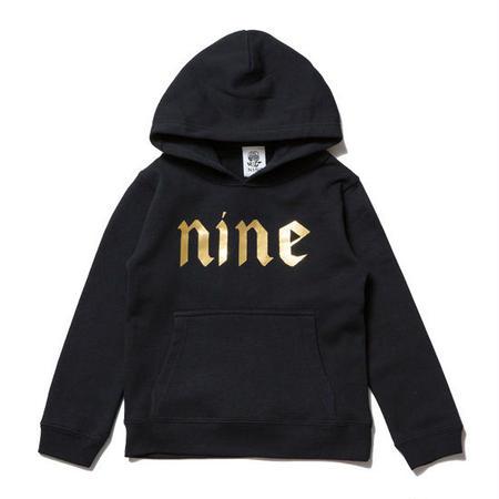 【 NINE RULAZ / ナインルーラーズ 】Logo Kids Hoodie