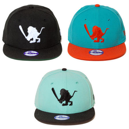 "【 Santastic! Kid's/ サンタスティック! ウエア 】NEW ERA 9FIFTY ""BAT SARU"" KIDS Cap"