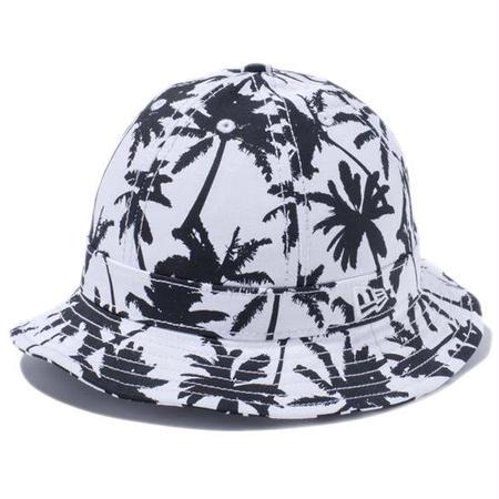 【 NEW ERA KID'S/ ニューエラ キッズ 】 Explorer Palm Tree BW  ハット/パームツリーホワイトベース