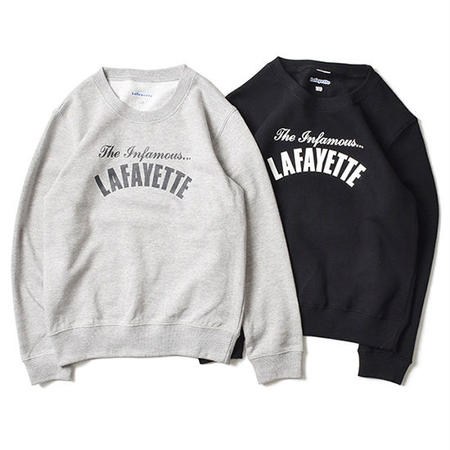 【LAFAYETTE / ラファイエット】Kids Infamous Crewneck Sweat