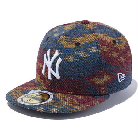 【 NEW ERA / ニューエラ 】KIDS 59FIFTY Native ニューヨーク・ヤンキース/ネイティブ × ホワイト
