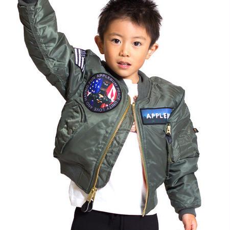 【 APPLEBUM / アップルバム キッズ 】MA-1 フライトジャケット