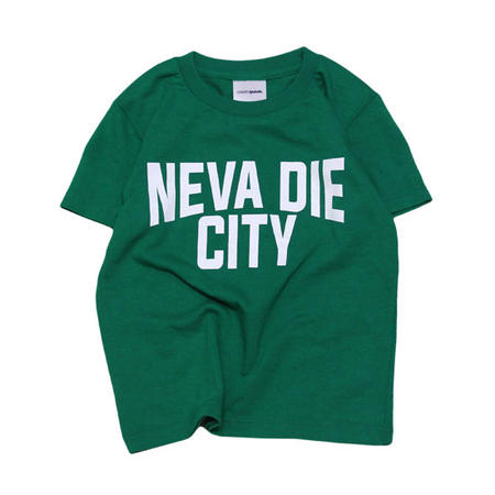 【 CASSETTE PUNCH / カセットパンチ 】 Neva Die City Kids Tee