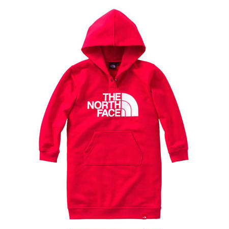 【 THE NORTH FACE / ノースフェイス 】Kids Sweat Logo Onepiece