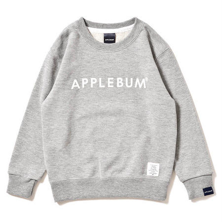 【 APPLEBUM / アップルバム 】 KID'S CUBE LOGO SWEAT