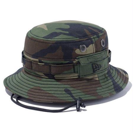 【 NEW ERA KID'S/ ニューエラ キッズ 】 Adventure Cotton Hat  /ウッドランドカモ