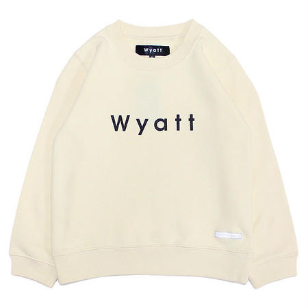 【WYATT / ワイアット】BASIC LOGO SWEAT