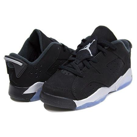 【JORDAN/ジョーダン】Air Jordan 6 Retro Low / ブラック×メタリックシルバー×ホワイト