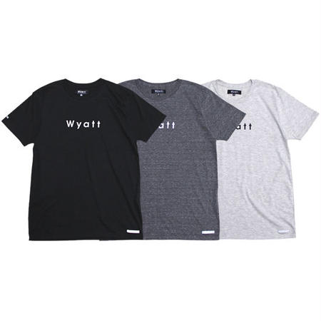 "【 WYATT / ワイアット 】BASIC LOGO  ""Tri-Blend"" TEE for WOMEN"