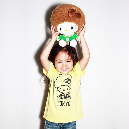 【 Santastic! Kid's / サンタスティック キッズ 】ハローキティ キッズ Tシャツ