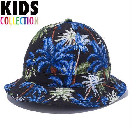 【 NEW ERA KID'S/ ニューエラ キッズ 】Explorer Palm Tree  ハット/ブラックパームツリー