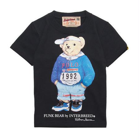"【 INTERBREED / インターブリード 】BEAR ""90's"" KIDS Tee"