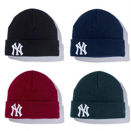 【 NEW ERA KID'S/ ニューエラ キッズ 】 Basic Cuff Knit ニューヨークヤンキース ニットキャップ