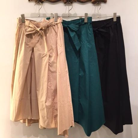 綿ブロードアシンメトリースカート