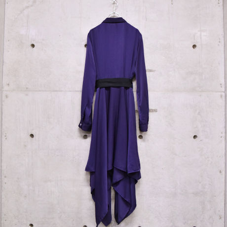 iris dress one-piece / Deep Violet