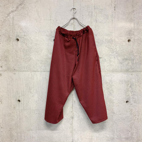 Lucia checked coach pants / 2color