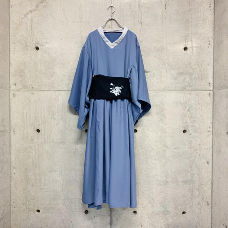 Night flower YUKATA one-piece / 2color