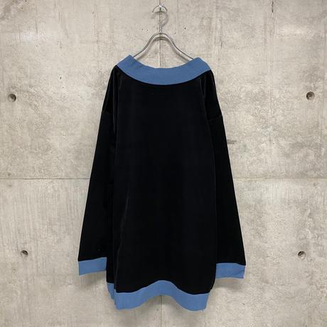 Jill velour pullover