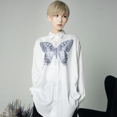 蝶 dress shirt