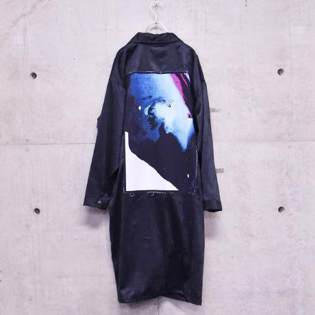 Nia suede rider's coat / Black