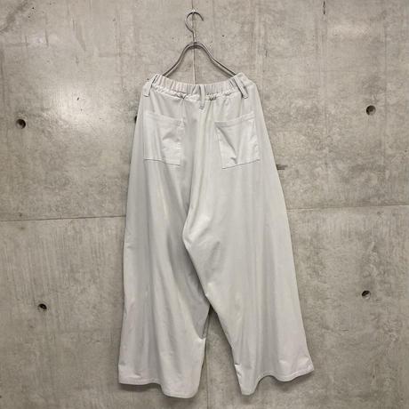 Rita suede wide pants / color