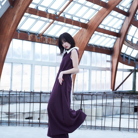 Aria no sleeves all-in-one / burgundy