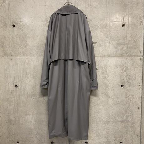 Khloe long trench coat