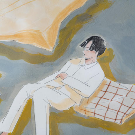 ototoi 額付原画 slumber (眠る)