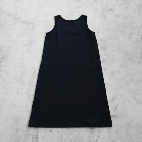 [HUIS in house]SUVIN COTTONタンクトップワンピース(kuro)【レディス】CS002