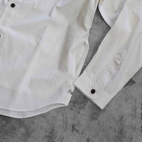 オーガニックコットンポケットシャツ(アイボリー)【ユニセックス】