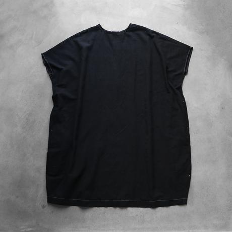 レピアコクーンワンピース(製品染めブラック)【レディス】U207