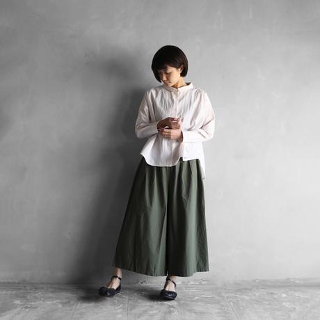 コードレーンワイドブラウス(ベージュ)【レディス】U102