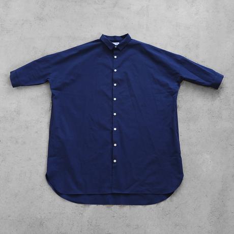やわらかコットンロングシャツ(フレンチブルー)【ユニセックス】