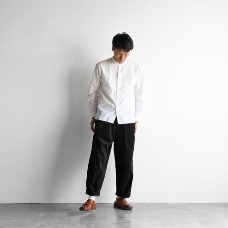 シャトルコーデュロイワイドパンツ(太畝・カーキ)【ユニセックス】