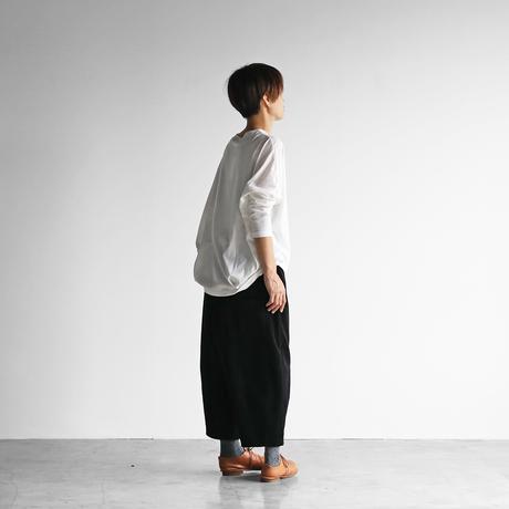 シャトルコーデュロイバルーンパンツ(太畝・ブラック)【ユニセックス】 506