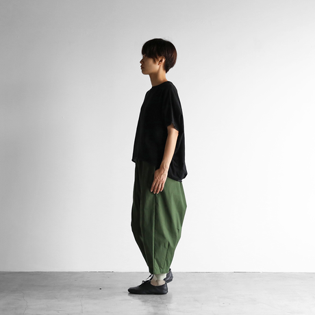 レピアコクーンプルオーバ(製品染めブラック)【レディス】U608