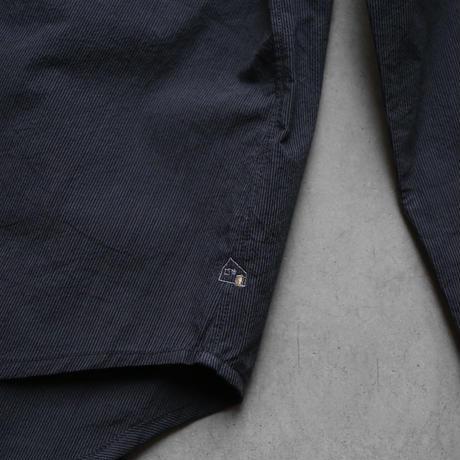 コードレーンワイドブラウス(黒ストライプ)【レディス】U102