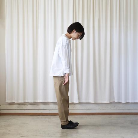 ダウンプルーフコットンパンツ(サンドベージュ)【ユニセックス】