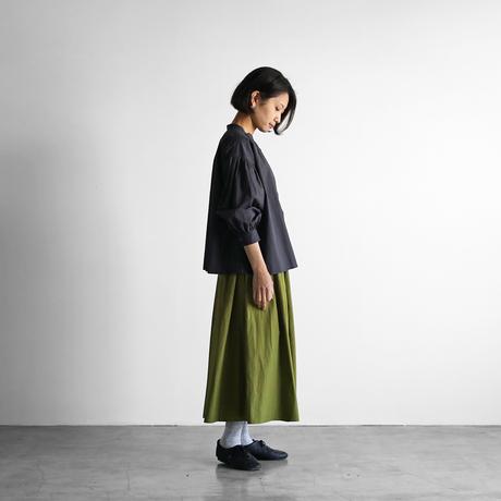 タイプライタークロスロングスカート(リーフグリーン)【レディス】U402