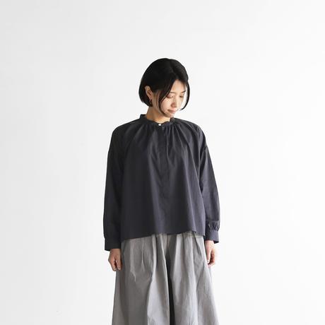 ゆるふわコットンバルーンスリーブワイドブラウス(スミクロ)【レディス】U106
