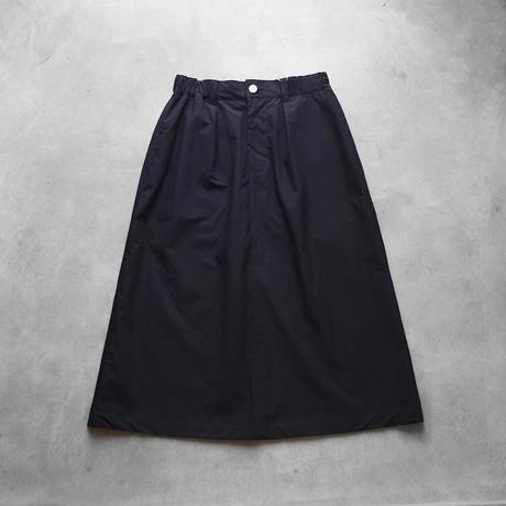 タイプライタークロスプレーンスカート(ブラック)【レディス】U403