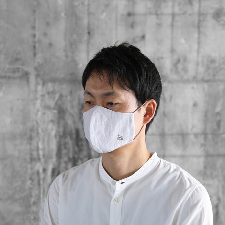 HUISマスク(コードレーントップ糸グレー&コットンリネン)【ユニセックス】