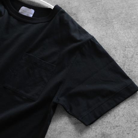 [HUIS in house]SUVIN COTTONゆるTシャツ(kuro)【ユニセックス】CS102