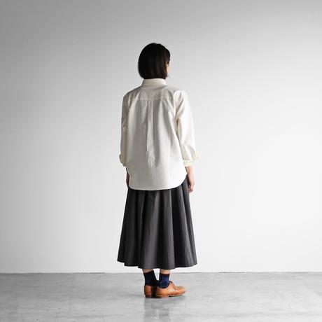 スヴィンオックスフォードシャツ(アイボリー)【ユニセックス】013