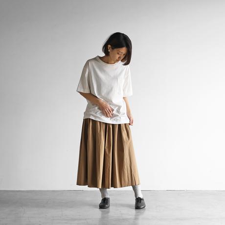 [HUIS in house]SUVIN COTTONゆるTシャツ(siro)【ユニセックス】CS102