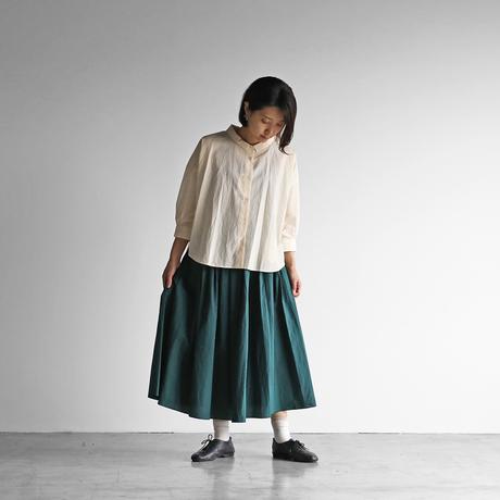 8分袖コードレーンワイドブラウス(きなり)【レディス】U108